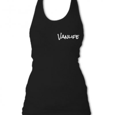 TREAD Logo Vanlife Ladies Tank Top Double sided