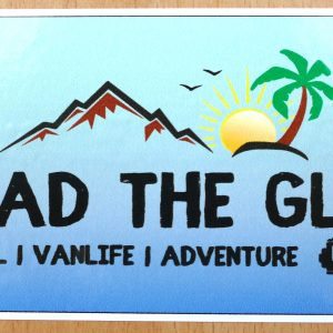 TREAD the Globe Sticker Pack 2020