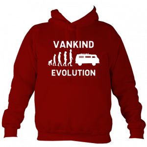 Evolution of Vankind Hoodie