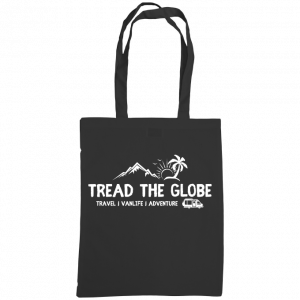 Tread the Globe – Shoulder Tote Bag