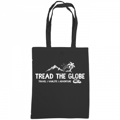 Tread the Globe – Shoulder Tote Bag