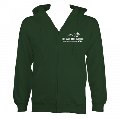 Tread the Globe Official Zipped Hoodie