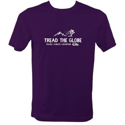 Tread the Globe Official Sports T Shirt