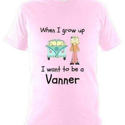 When I grow up – Kids T-Shirt Girls