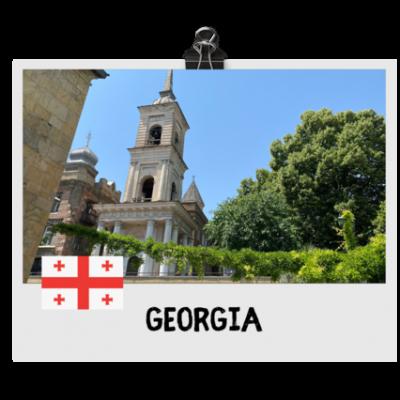 Georgia destination flag